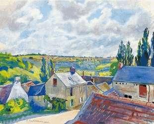 Вид на крыши. Франция — Зинаида Серебрякова