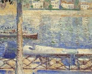 Вид с лодкой в Сен-Клу — Эдвард Мунк