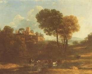 Villa in the Roman Campagna — Клод Лоррен