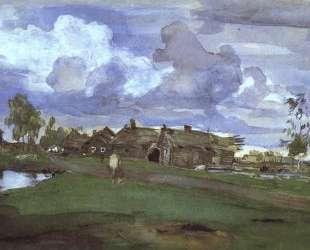 Деревня — Валентин Серов