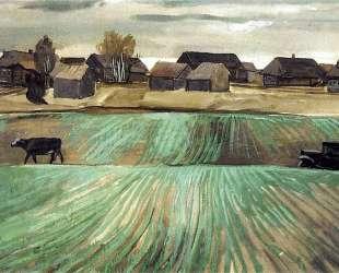 Деревня — Александр Дейнека