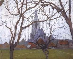 Сельская церковь — Пит Мондриан