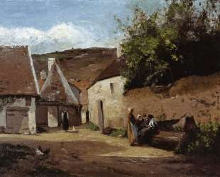 Village Corner — Камиль Писсарро