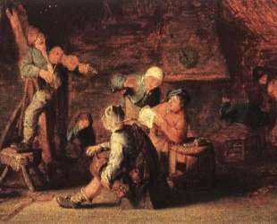 Village Feast — Адриан ван Остаде