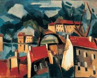 Village on the River — Морис де Вламинк
