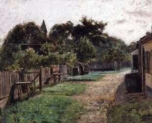 Village Scene — Теодор Клемент Стил