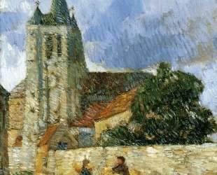 Village Scene, Breton — Чайльд Гассам