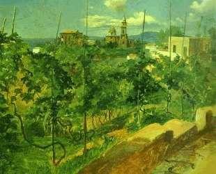 Vineyard at Vico — Николай Ге