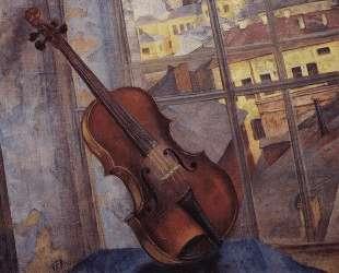 Скрипка — Кузьма Петров-Водкин