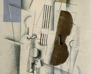 Скрипка и газеты — Жорж Брак