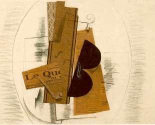 Скрипка и трубка — Жорж Брак