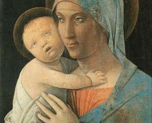 Virgin and Child — Андреа Мантенья