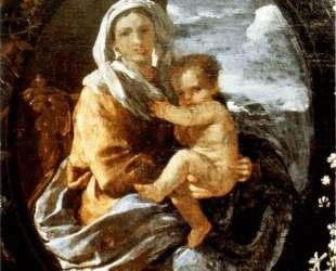 Богородица с младенцем — Николя Пуссен
