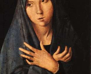 Благовещение — Антонелло да Мессина