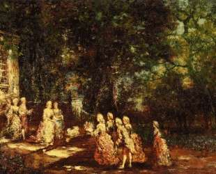 Visit to a Princess — Адольф Жозеф Тома Монтичелли
