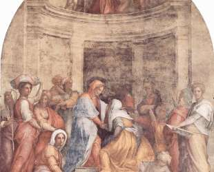Visitation — Джакопо Понтормо