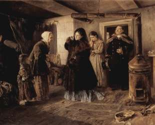 Посещение бедных — Владимир Маковский