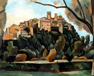 Vista de Saint Paul de Vence — Андре Дерен