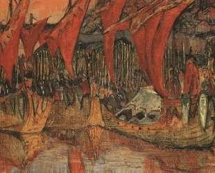 Vladimir campaign to Korsun (Red Sails) — Николай Рерих