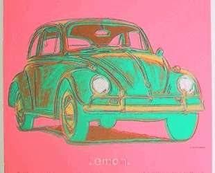 Volkswagen — Энди Уорхол