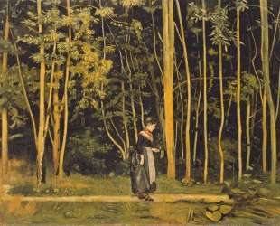 Walking at the forest edge — Фердинанд Ходлер