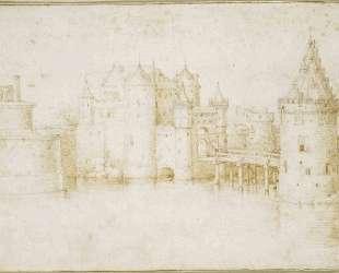Стены, башни и ворота Амстердама — Питер Брейгель Старший