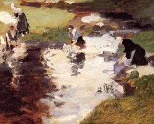 Washerwomen — Джон Сингер Сарджент