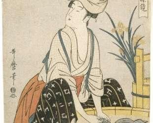 Washing Clothes — Китагава Утамаро