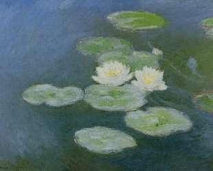 Водяные лилии, вечерний эффект — Клод Моне