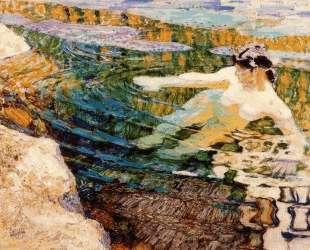 Water. The Bather. — Франтишек Купка