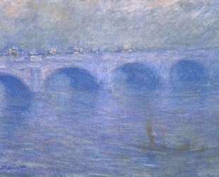Мост Ватерлоо в тумане — Клод Моне
