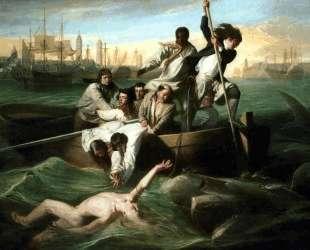Уотсон и акула — Джон Синглтон Копли