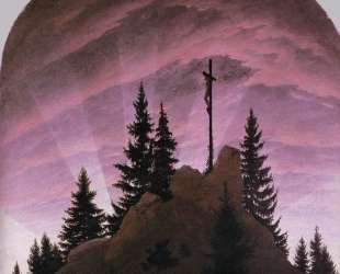 Cross in the Mountains (Tetschen Altar) — Каспар Давид Фридрих