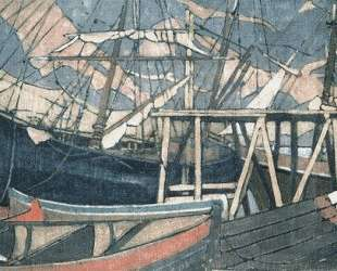 У становища корабля — Константин Коровин