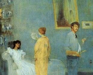 Whistler in his studio — Джеймс Эббот Макнил Уистлер