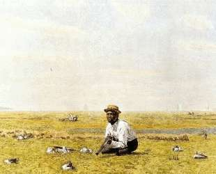 Whistling for Plover — Томас Икинс