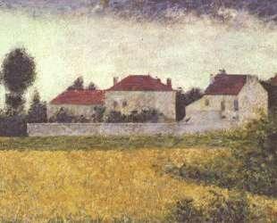 Белые дома, Вилль д'Авре — Жорж Сёра