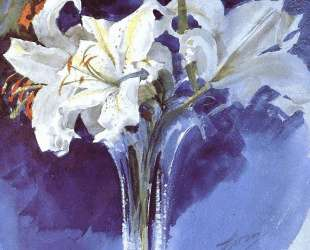 White Lilies — Андерс Цорн