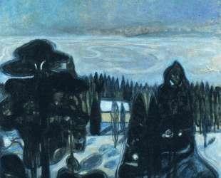 Белая ночь — Эдвард Мунк