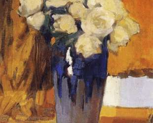 White Roses from the House Garden — Хоакин Соролья
