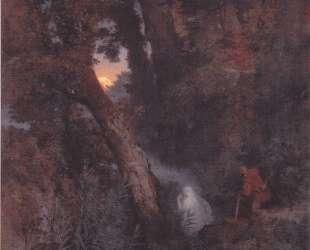 Will-o'-the-wisp — Арнольд Бёклин