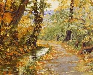 Winding Brook — Эгон Шиле