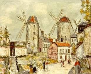 Windmills of Montmartre — Морис Утрилло