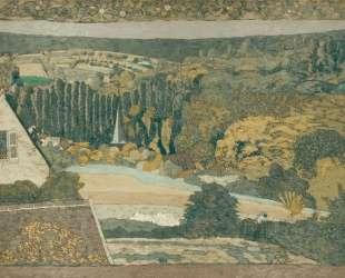 Window overlooking the Woods — Эдуар Вюйар
