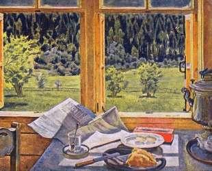 Window to Nature. Ligachevo, may — Константин Юон