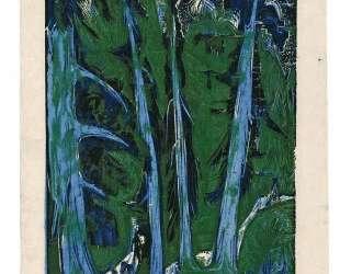Windswept Firs — Эрнст Людвиг Кирхнер