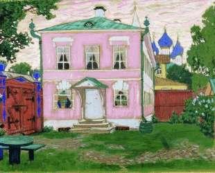 Флигель с крыльцом — Борис Кустодиев