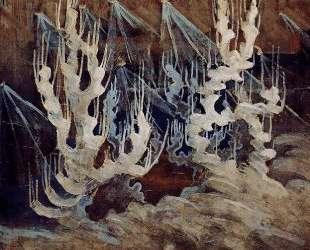 Зима (II) — Микалоюс Чюрлёнис