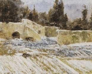 Зима в Риме — Василий Поленов