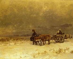 Зима в Крыму — Фёдор Васильев